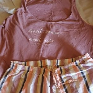 Tank top and short sleep set Lg